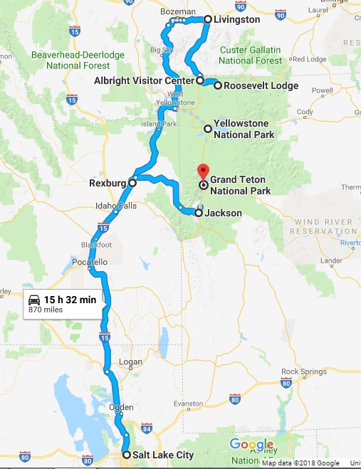 The ultimate 4 days itinerary to Yellowstone and Grand Teton ...